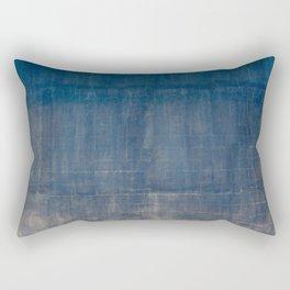 vintage blue wall Rectangular Pillow