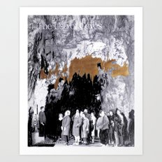 Cave Drawing VII Art Print