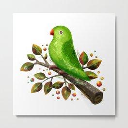 Parrot Bird Metal Print