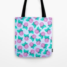 Floral Devotion Pink Flowers Design Tote Bag