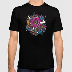 Donut Beauty MEDIUM Mens Fitted Tee Black