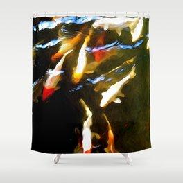 Natureʻs Rhythm Shower Curtain
