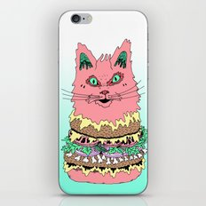BURGERCAT iPhone & iPod Skin