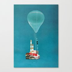 Sky House Canvas Print