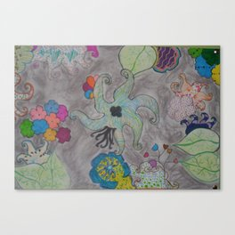 Odd Placement  Canvas Print
