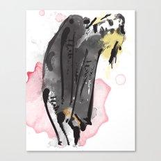 Bent Canvas Print
