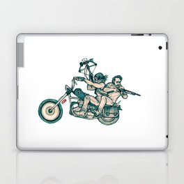TWD_daryl dixon and rick grimes Laptop & iPad Skin