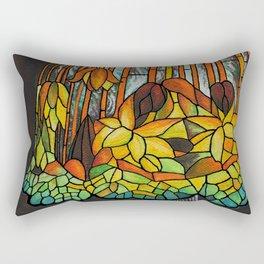 Dropping Flower Lamp Rectangular Pillow
