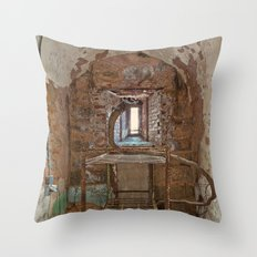 Serpent Prison Cell Throw Pillow