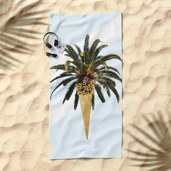 Coconut Ice Cream #society6 #decor #buyart Beach Towel