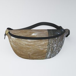 Pollution. The Number 38 Tree Soldier. Global Warming Awareness Fanny Pack