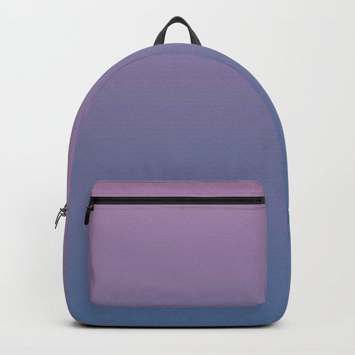 Gradient Dawn Pink Purple Blue Backpack