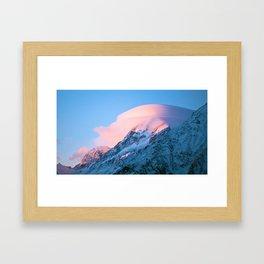 Aoraki/Mt Cook Framed Art Print