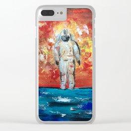 Impressionistic Deja Entendu - Brand New Clear iPhone Case