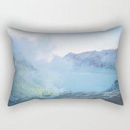 Kawah Ijen, Indonesia Rectangular Pillow