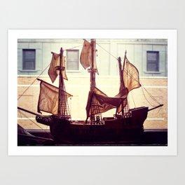Clipper ship Art Print