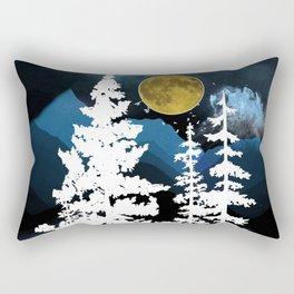Full Moon Rising II Rectangular Pillow