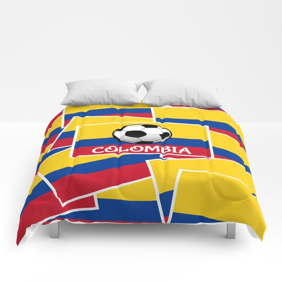 Colombia Football Comforters