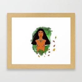 De la Tierra (Of the Earth) Framed Art Print