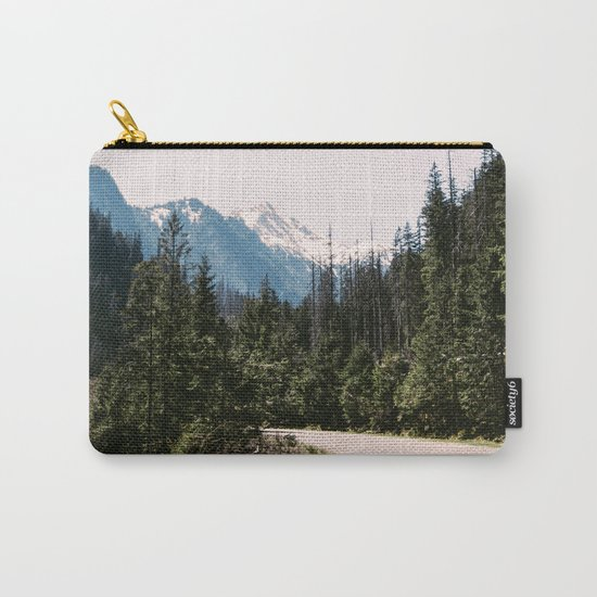 Mountain Landscape with Road Carry-All Pouch