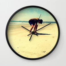 The Artist At Work Wall Clock