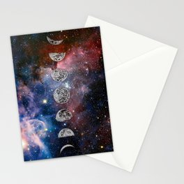 Cosmic Celestial Cycle Stationery Cards