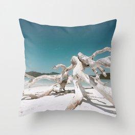 White Haven Beach, Queensland, Australia Throw Pillow