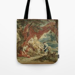 Resting Diana, from the Triumph of the Gods Tote Bag