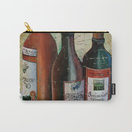 Vintage Georgian Wine Fresco Carry-All Pouch