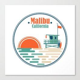 Malibu, California Canvas Print