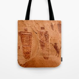 Horseshoe Canyon Great Gallery Group 2 Pictographs Tote Bag