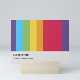 Pantone Love - Mug2 Mini Art Print