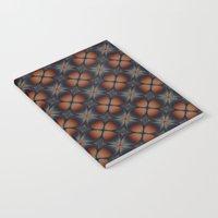 Metallic Deco Copper Notebook