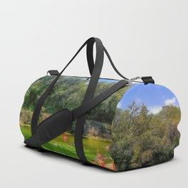 Barton Springs at Zilker Park - Austin, Texas Duffle Bag