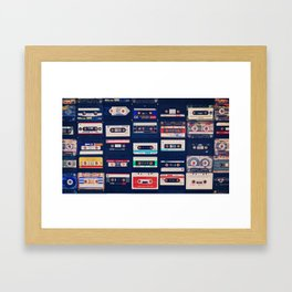 Lost Tapes. Framed Art Print