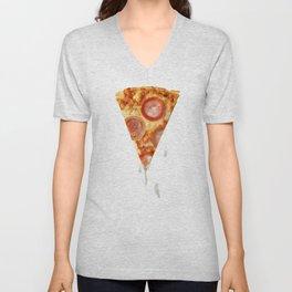 Pizza & Porn Unisex V-Neck