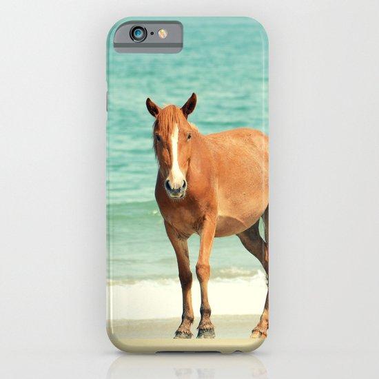 Wild Mustang of Carova, NC iPhone & iPod Case