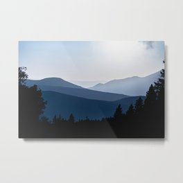 Mountain Layers New Mexico - Nature Photography Metal Print