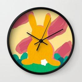 Hippity Hoppity Wall Clock