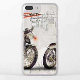 Triumph Bonneville T100 - T120 Clear iPhone Case