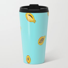 Exotic fruit - Papaya  Travel Mug