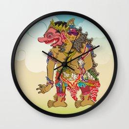 Kumbakarna character in Ramayana story Wall Clock