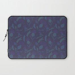 Purple Thistle Laptop Sleeve