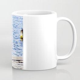 Blue Heron Strut Coffee Mug
