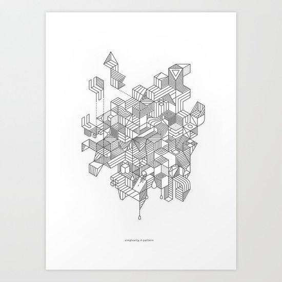 Simplexity Art Print