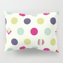 Colorful Dots Pillow Sham