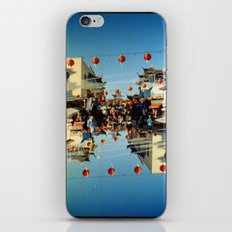 ron (35mm multi exposure) iPhone & iPod Skin