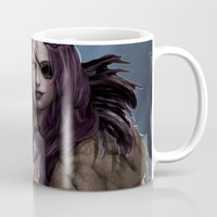 vespa Mugs featuring VESPA by KlsteeleArt