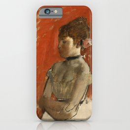 Ballet Dancer with Arms Crossed iPhone Case