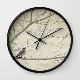 Eastern Bluebird Wall Clock